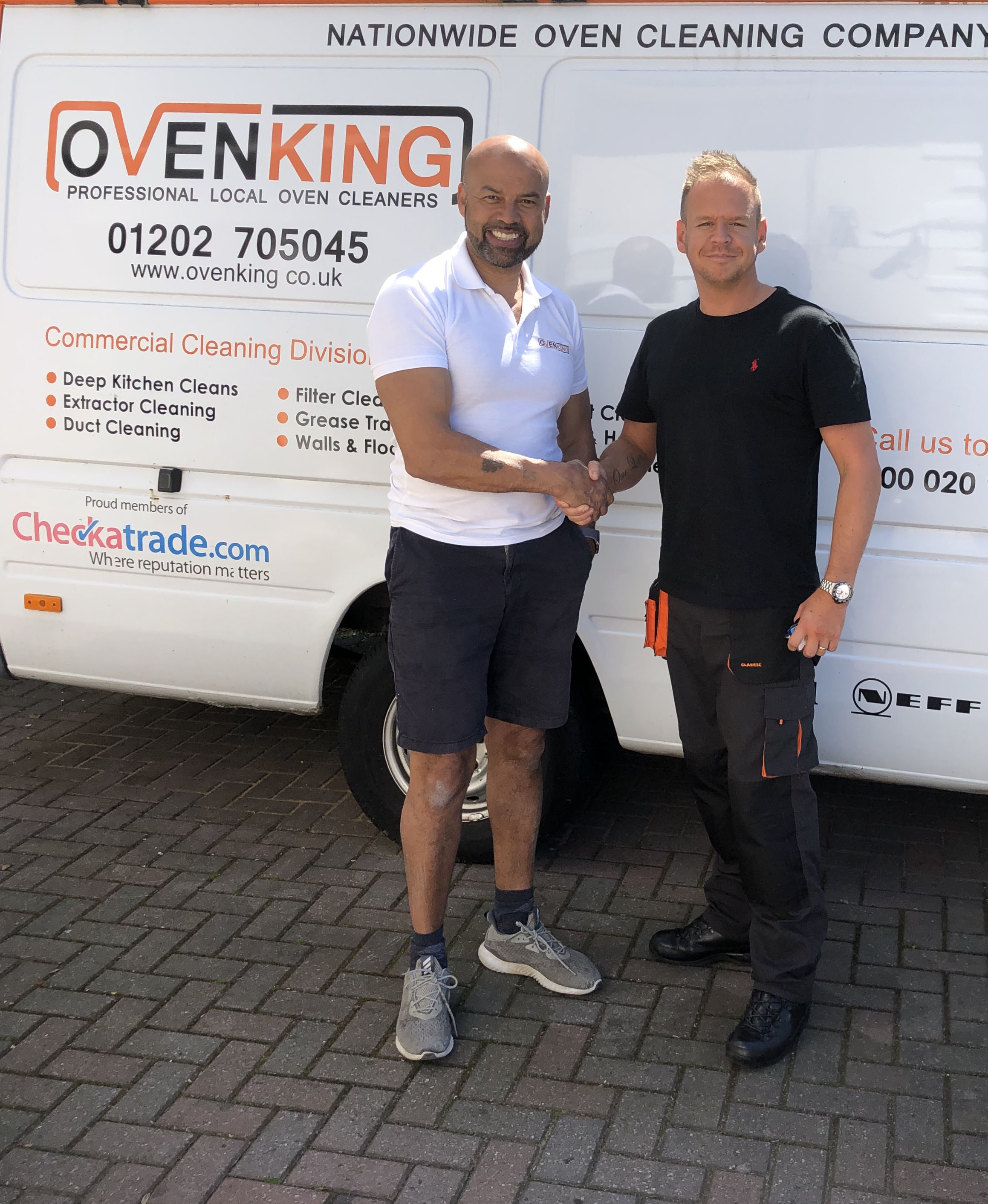 Oven Cleaning Training Resettlement Courses for ex Armed Forces Trainees