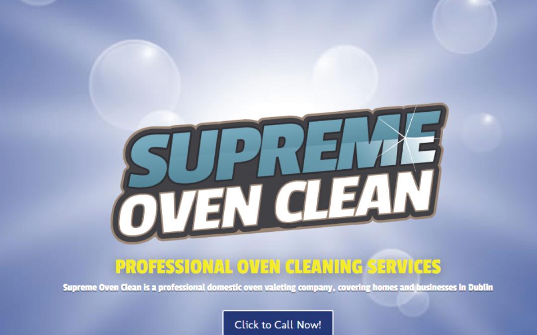 Case Study: Liam (Supreme Oven Clean)